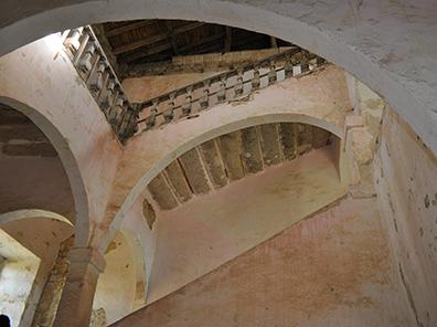Escalier Couvent des Carmes
