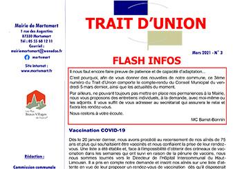 Trait d'Union n°3 – Mars 2021