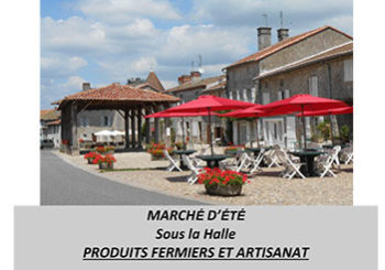 Traditionnel marché campagnard