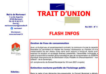 Trait d'Union n°4 – Mai 2021
